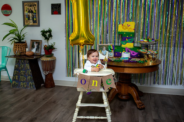 Silas 1st Birthday