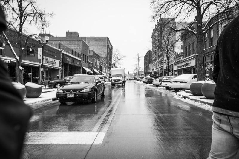 Straight Through Downtown