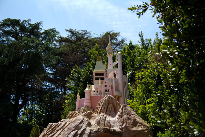 Cinderella's Castle from the Casey Jr Circus Train