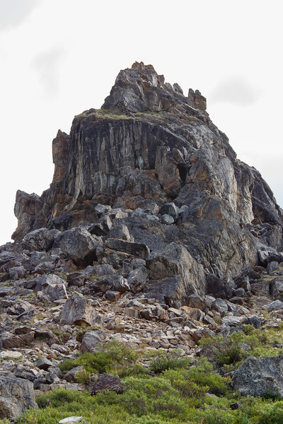 Rock outcropping near Savage River loop trail