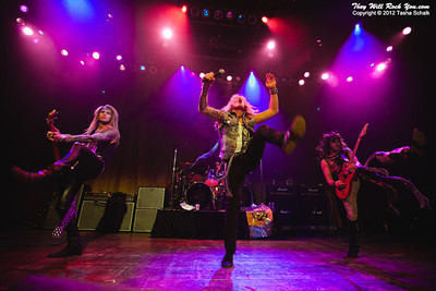 Steel Panther <br> December 29, 2011 <br> House of Blues - Chicago, IL. <br> Photos by: Tasha Shalk
