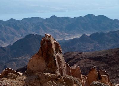 Eilat Mountains - Day 2 - January 14,,2012 Ein Netafim to Shhoret canyon