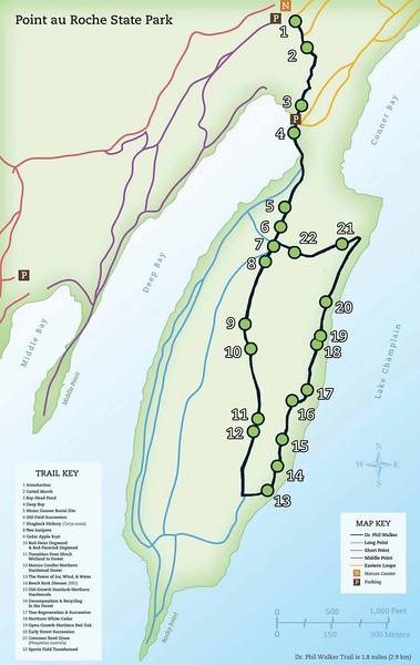 Point Au Roche State Park (Phillip Walker Memorial Nature Trail)