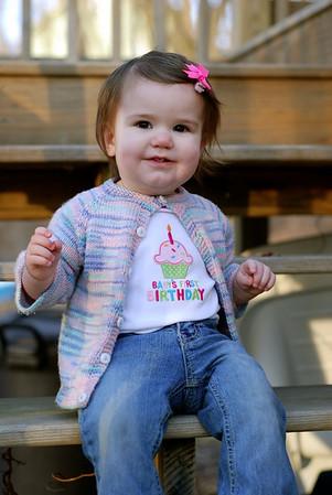 Esme's First Birthday Photo Shoot