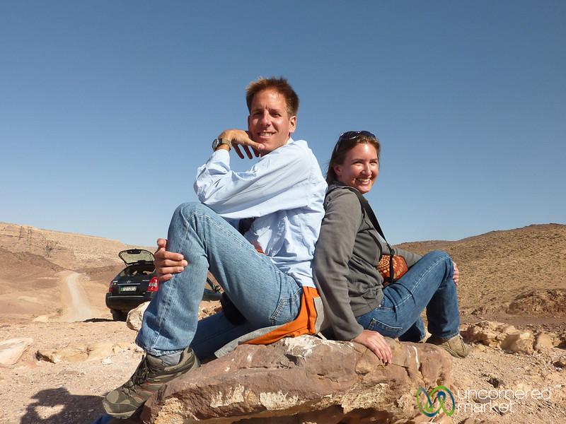 Picnic Lunch Overlooking Wadi Araba - Jordan