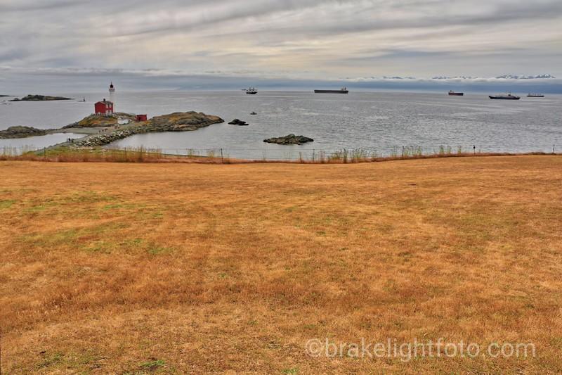 Fisgard Lighthouse from Fort Rodd Hill