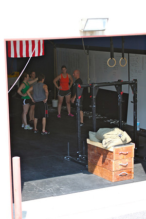 CrossFit Harford 7 July 2012