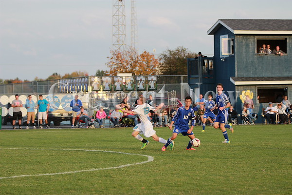 10-13-14 Sports DHS vs. Bath Boys Soccer Sectional