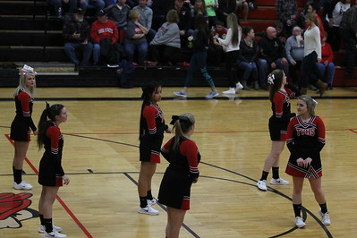 Cheer @ Claymont Basketball