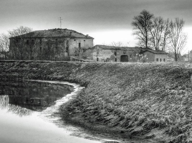 Naviglio Canal - Albareto, Modena, Italy - February 18, 2009