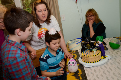 Troy's 7th Birthday Party
