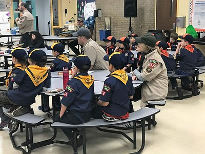 Cub Scout Pack 94 CPR Demo