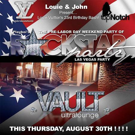 Louie Vuitton's Birthday Bash @ The Vault 8.30.07