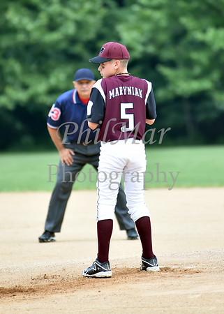 Mifflin Diamond Team Vs Oley Baseball 2015