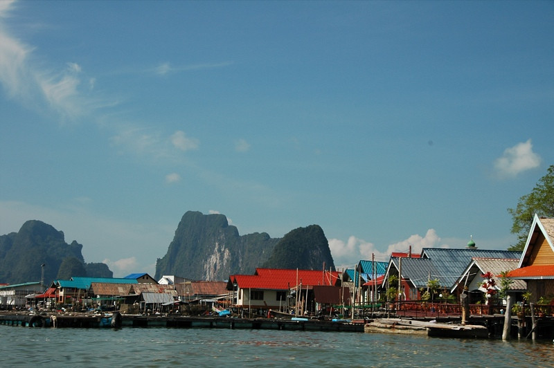 Floating Village - Phang Nga, Thailand