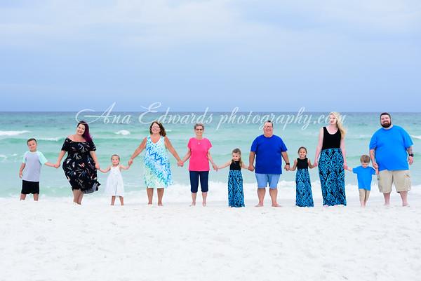 The Shahan family 2021  |  Panama City Beach