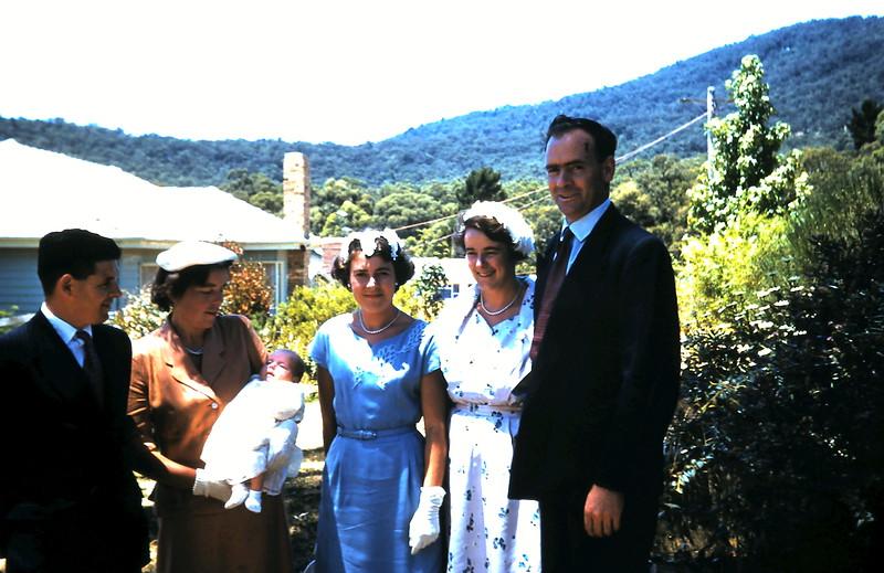 1961-1-15 (17) Brian, Betty, Helen 6wks, Mary, Mabel & Bruce @ Christening.JPG