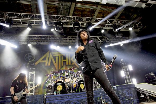 Anthrax at Anaheim House of Blues, 02/14/2018
