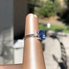 Vintage-Inspired and Contemporary 3.03ct Blue Sapphire Ring (GIA, No-Heat)) 22
