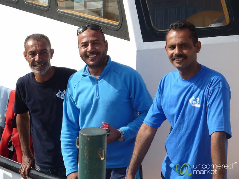 Friendly Crew of Sea Guard Scuba Diving - Aqaba, Jordan