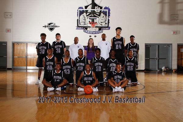 2017-2018 JV Boys Basketball