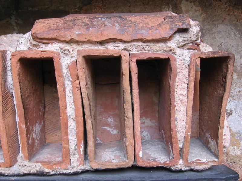 Roof tiles, Roman Baths, Bath