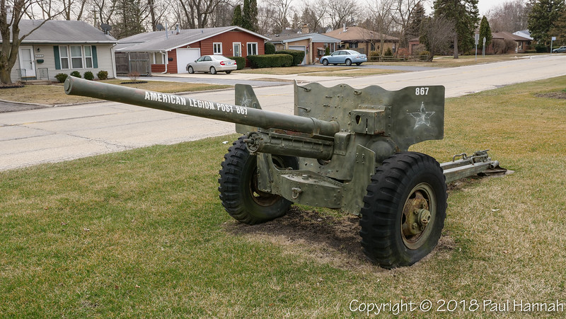 Memorial Park - Mundelin, IL - 57mm ATG