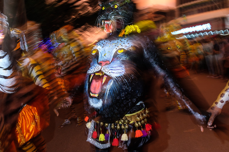 Puli Kali (Dance of Tigers)