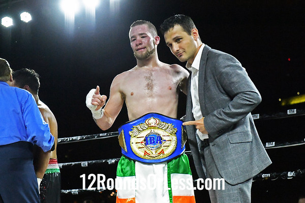 Bout #6:  Matt Conway, Pittsburgh, PA  vs  Arturo Santos Reyes, Nogales, Mexico - Lightweight, 10 Rounds