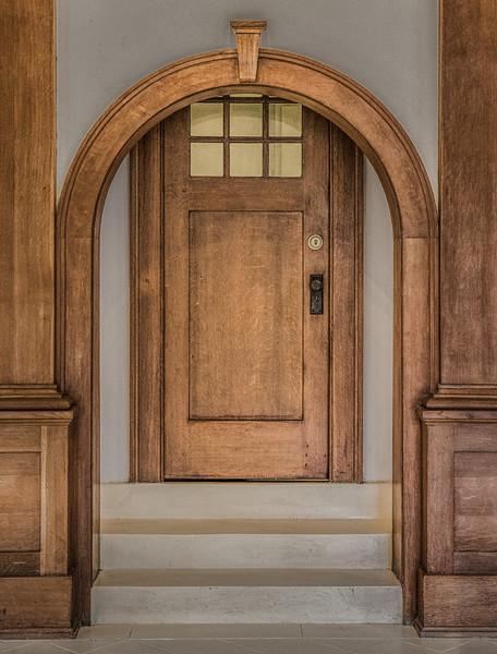 Strange Doorway at Laguna Gloria in Austin.