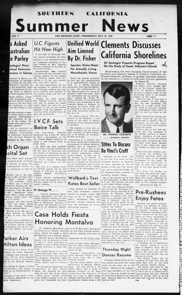Summer News, Vol. 1, No. 7, July 10, 1946