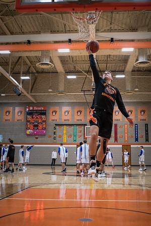 White Bear Lake Boys Varsity Basketball -V- Cambridge 2018