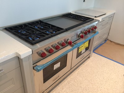 Tankless heaters and stove. Key Biscayne, FL