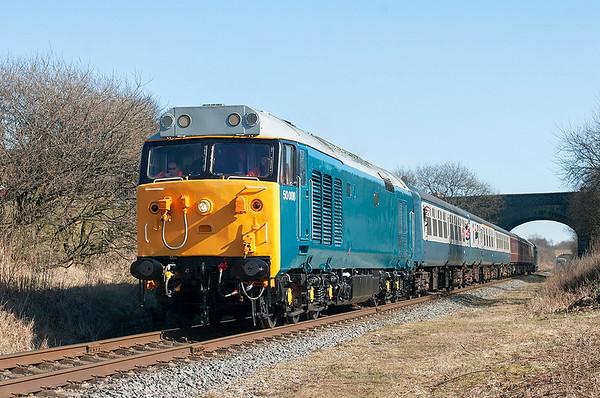 7th March 2010: East Lancashire Railway