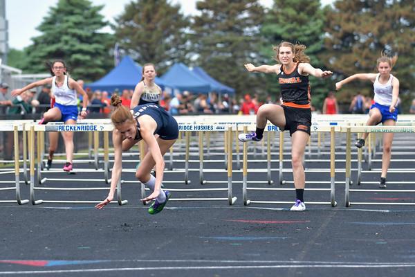 Breckenridge hosts Varsity Girls Track Regionals 5-22-21