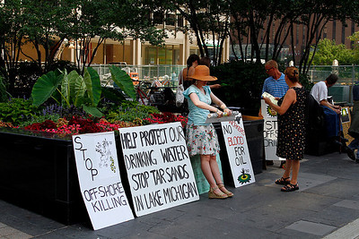 Tribune Plaza Rally 7-6-10