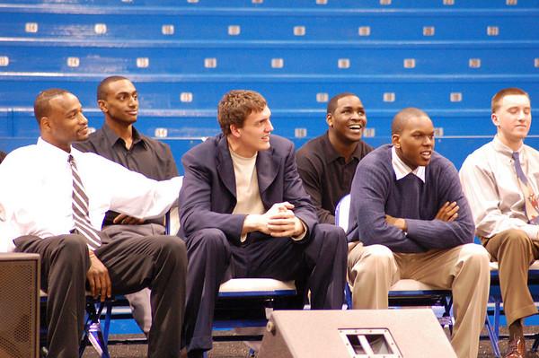 2007-08 KU MEN'S BASKETBALL CELEBRATION