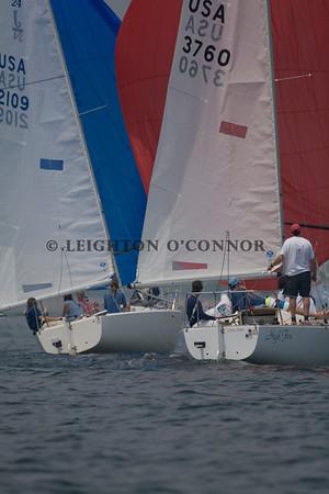 Jubliee Yacht Club: 2008 Around the Rocks J24