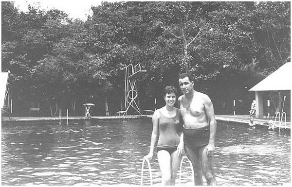 Rosa Lopes e pai