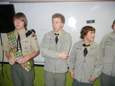 Troop Meeting - Nov 28