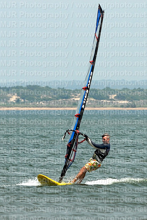 Windsurfing, Montauk, 7-15-2007