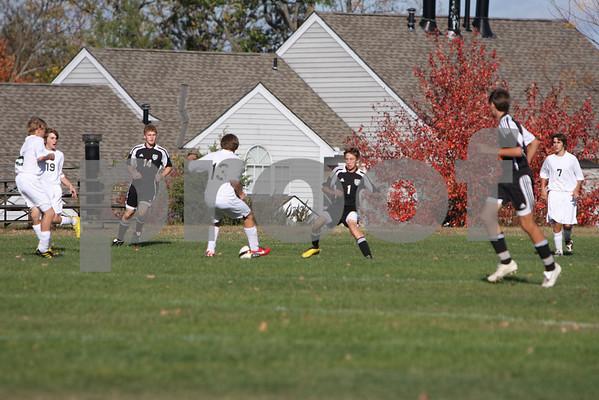 Boys JV soccer last game at McNick 10/14/10