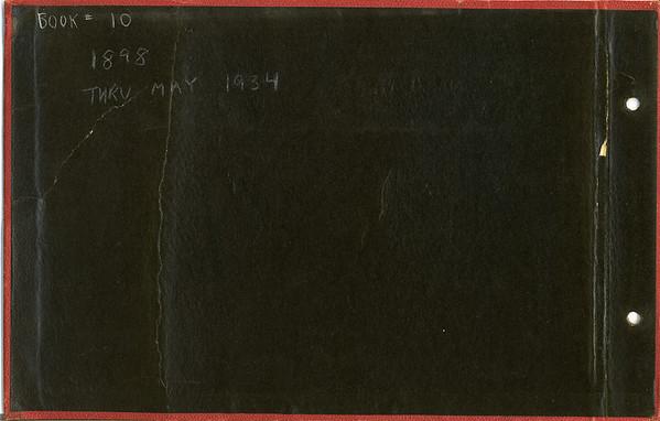 AC & Anna B Album # 10 various years 1898-1907-10-21-24-25-27-28-29-30-31