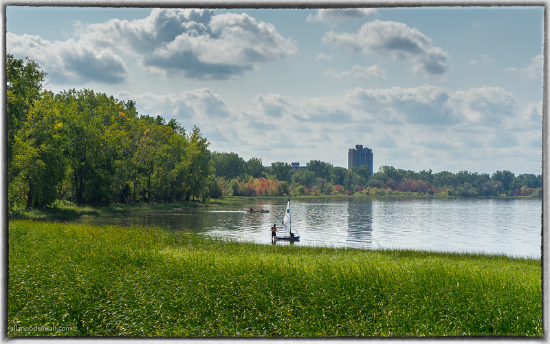 Ottawa River at Britannia