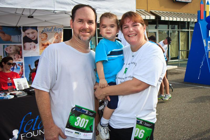 The 2012 Race For Fetal Hope 5K.   Photo: James Vernacotola
