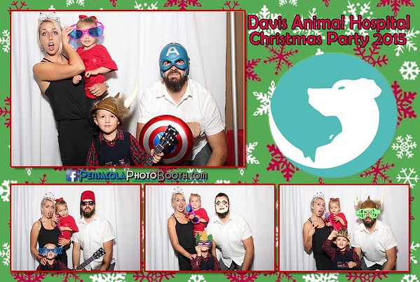 Davis Animal Hospital Christmas Party 12-17-2015