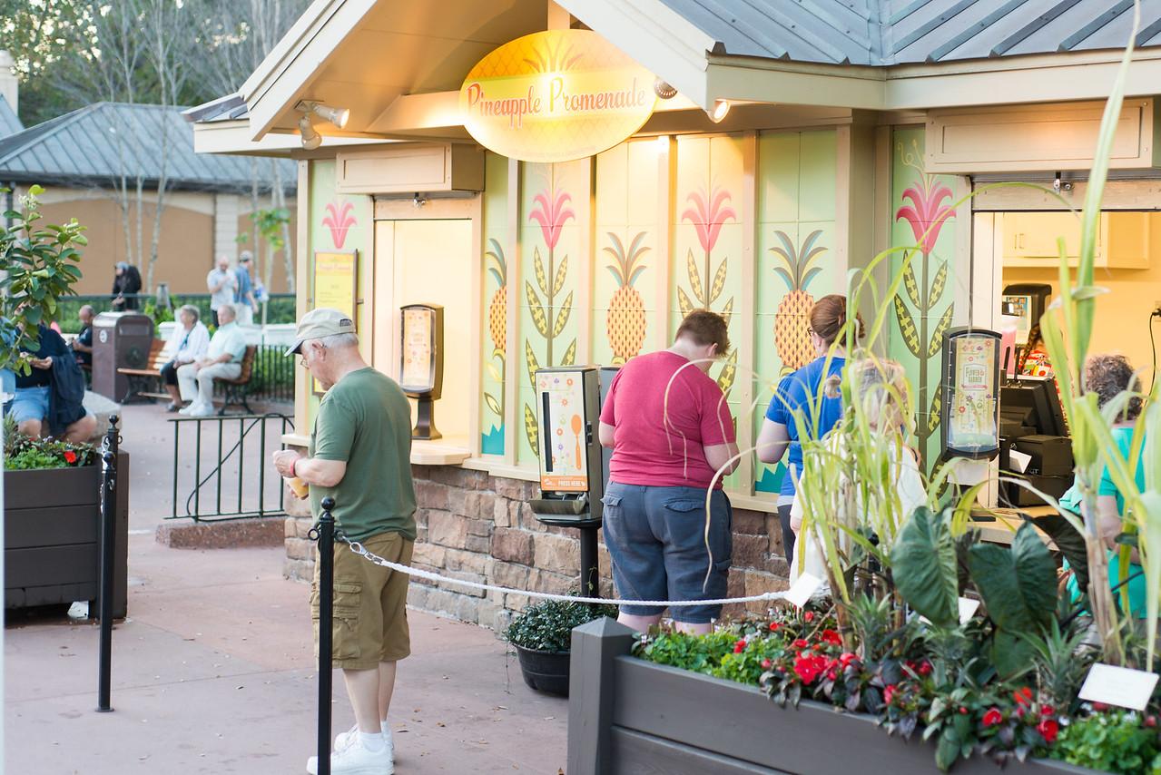 Pineapple Promenade Food Kiosk - Epcot Flower & Garden Festival 2016