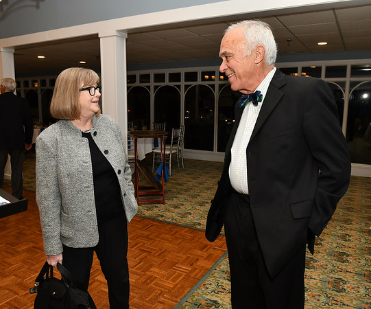 11/6/2019 Mike Orazzi | StaffrJohn Benoit and his wife Cheryl during The Bristol Boys and Girls Clubs Older Members Association and the Womens Keystone Auxiliary event held at Chippanee Golf Club Wednesday evening.