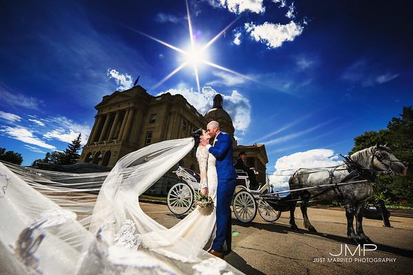 Jillian + Blaine wedding