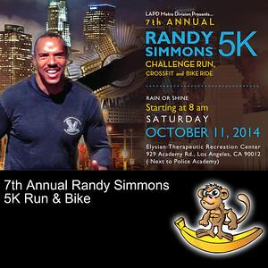 2014-10-10 7th Annual Randy Simmons 5k Challenge Run & Bike